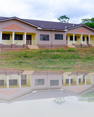 Misean Cara funded the Nurses Quarters at St John's Health Centre, Domeabra, Ghana, which was built by the Sisters of St Louis